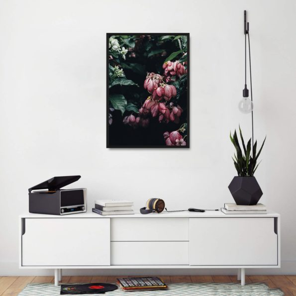 Plakat do salonu kwiaty Orchidea Store Poster